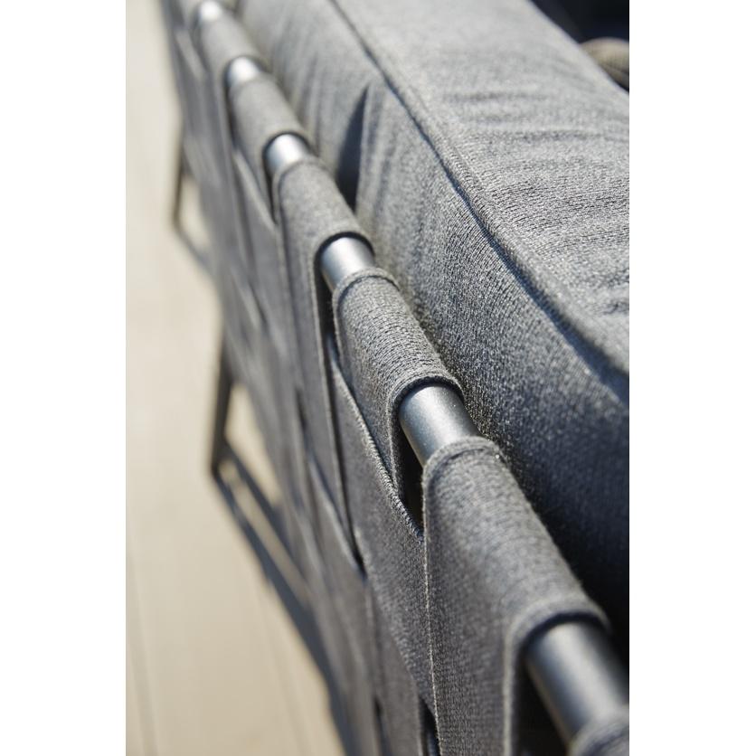 800 6174 conic 2 sitzer modulsofa inkl kissensatz rechts braun cane line tex profil gmbh. Black Bedroom Furniture Sets. Home Design Ideas